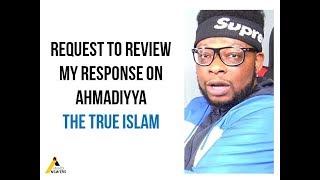 Advice to MR WHAATWAA - Ahmadiyya
