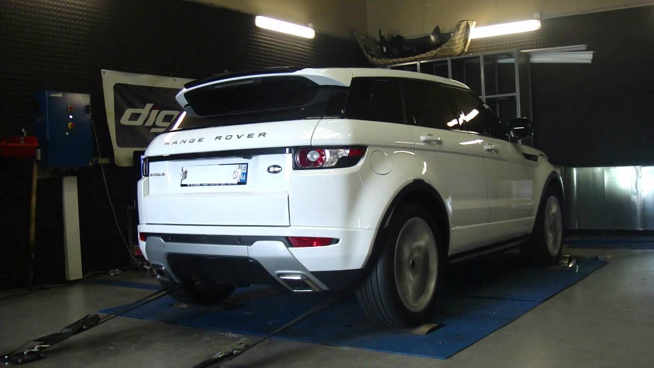 landrover evoque td4 150cv 215cv reprogrammation moteur dyno digiservices youtube. Black Bedroom Furniture Sets. Home Design Ideas