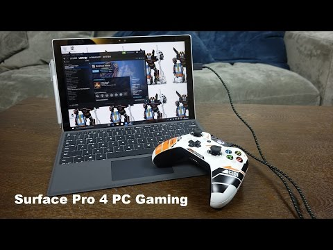 Surface Pro 4 PC Gaming: Packs a Punch [Redux]