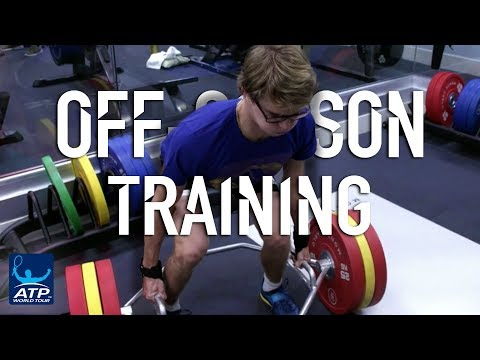 Zverev Brothers Tackle The Gym Off Season Training 2017