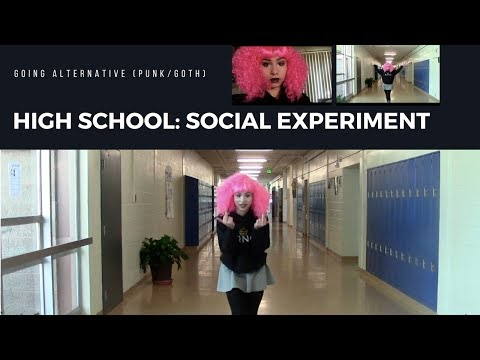 HIGH SCHOOL : A Social Experiment (going alternative)