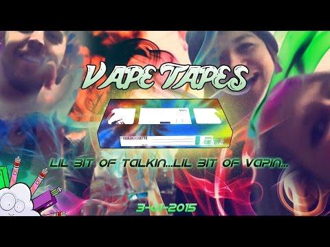 Vape Tapes ~ Juices/Nut Allergies/Vaperslam 2015
