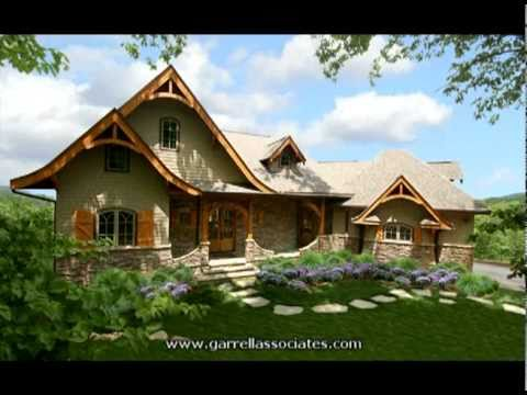 HOT SPRINGS COTTAGE HOUSE PLAN BY GARRELL ASSOCIATES INC MICHAEL W