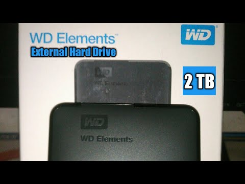 WD 2tb Elements portable External Hard Drive / full review in ( Hindi )