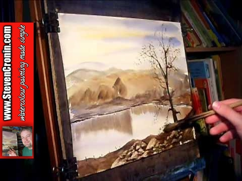 Stonehills Tarn Watercolour Landscape Painting Demo Part 3 of 3