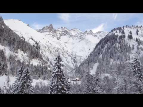 Winterwanderung nach Einödsbach in Oberstdorf