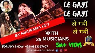 Le Gayi Le Gayi I Dil to Pagal Hai I Bollywood Hits I Asha Bhosle I Anant Musical Dreams I 90's Hits