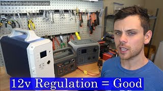 Lithium Solar Generators: Why you need a regulated 12v output