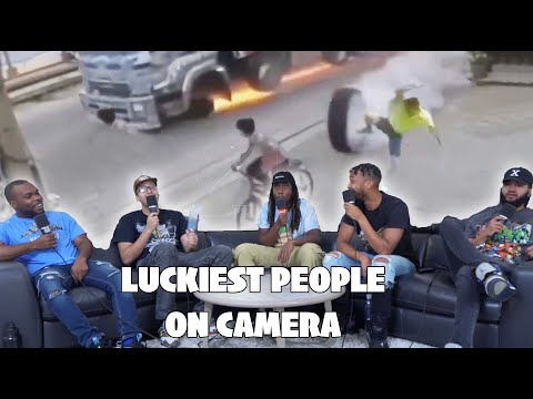 LUCKIEST PEOPLE CAUGHT ON CAMERA! REACTION