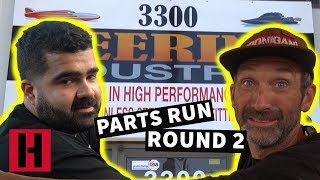 John and Brad Together?! Build & Battle Parts Run pt. 2!