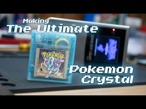 Creating The Ultimate Pokémon Crystal Cartridge! Swapping The ROM Chips From Japanese To English