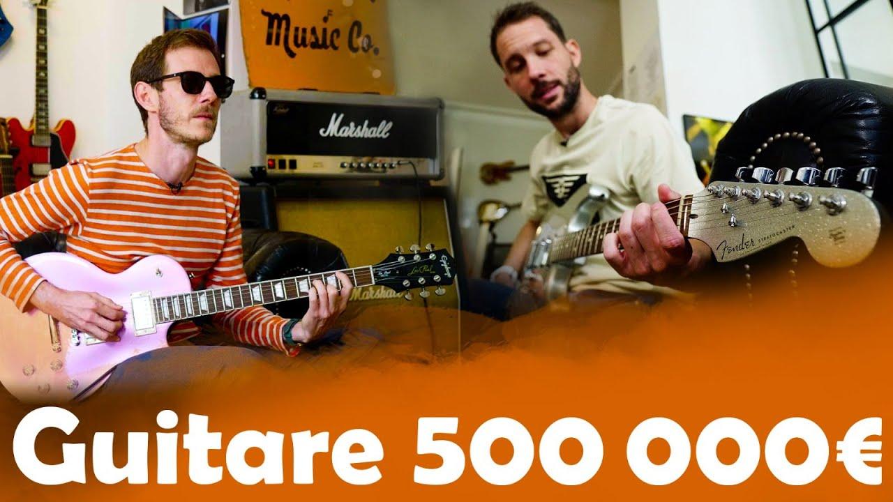 Guitare à 450€ VS 500 000€ avec PV Nova ( Red Hot, Frusciante, Billy Bob's, ... )