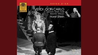 Don Carlo, Act I: Act I Scene 1: Prelude - Carlo, il sommo imperatore (Chorus, Monk)