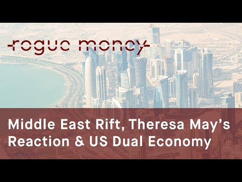 Rogue Mornings - Middle East Rift, Theresa May's Reaction & US Dual Economy  (06/05/2017)