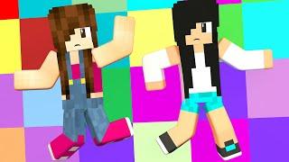 Minecraft - SÓ CAÍMOS DANÇANDO (Block Party)