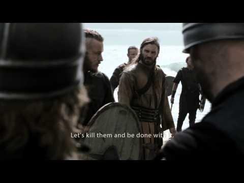 VIKINGS (2013) - Ragnars' army meets Anglo-Saxons