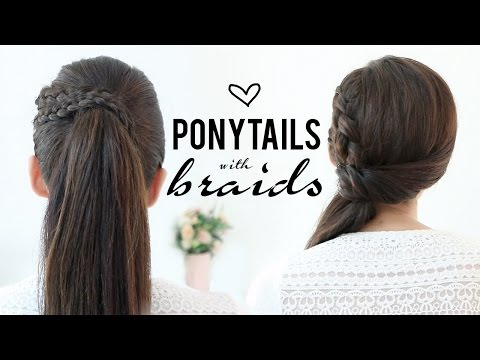 Hairstyles With Braid Ponytails
