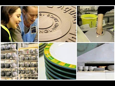Denby Pottery Factory Tour Vlog   Tastefully Vikkie
