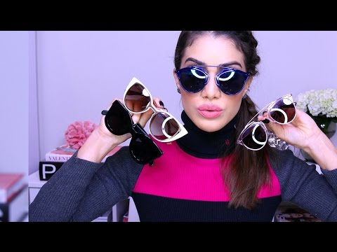 Fall and Winter Sunglasses | Makeup Tutorials and Beauty Reviews | Camila Coelho