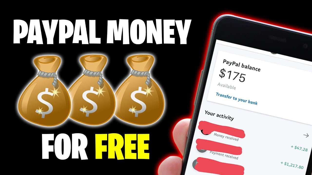 Earn $175 IN FREE PAYPAL MONEY *NEW WEBSITE* [Make Money Online]