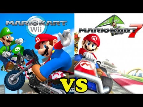 Dia nintendo mario kart wii vs mario kart 7 3ds comparativa y an lisis youtube - Mario kart wii voiture ...