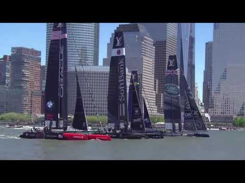 America's Cup World Series Race 1 Start - New York - May 2016