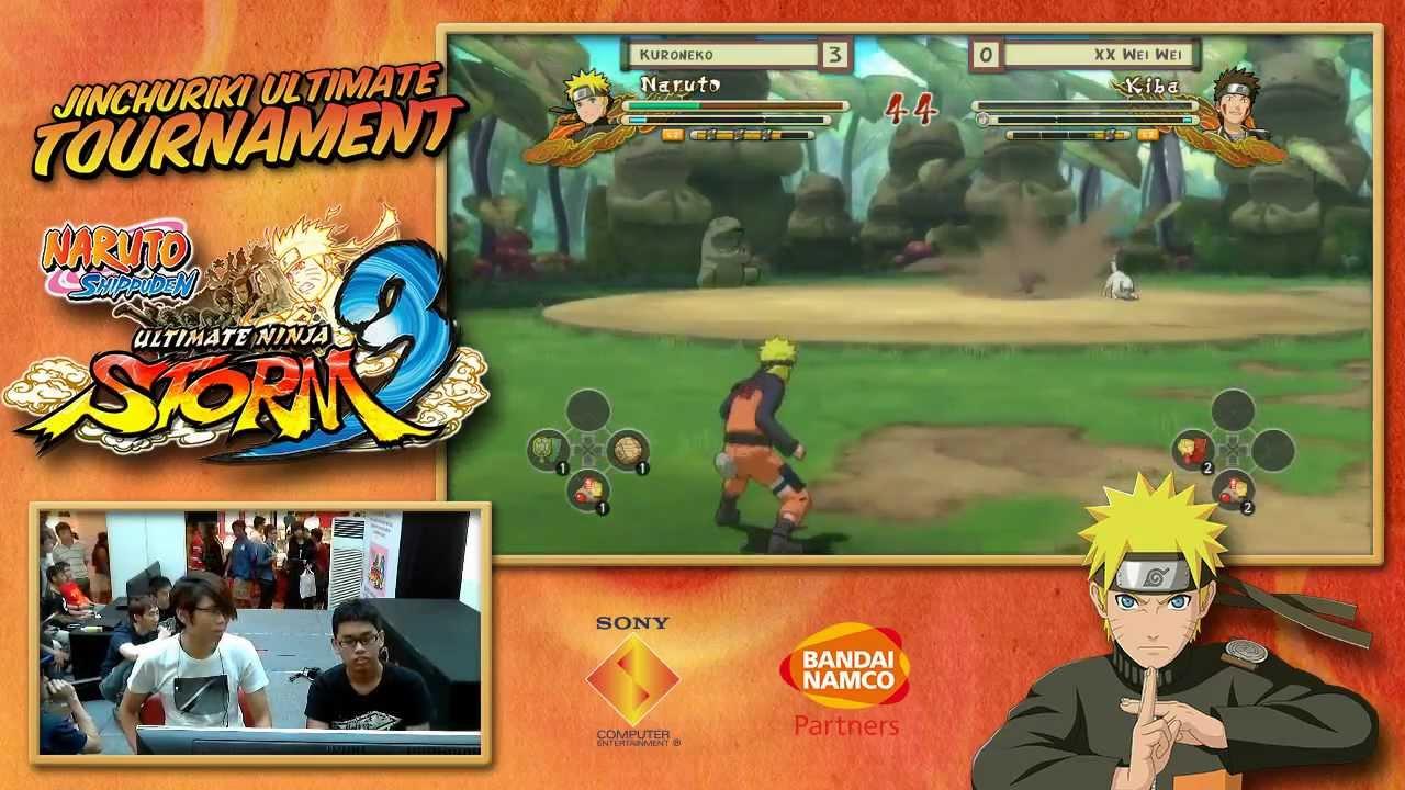 Naurto Ninja Storm 3 - Grand Finals: XX Wei Wei (Lee) Vs KuroNeko (Naruto)