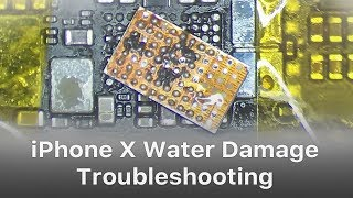 iPhone X/XS/XS Max Water Damage Troubleshooting