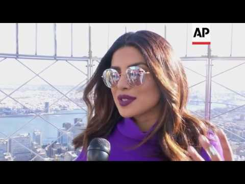 Priyanka Chopra talks moving to New York to film her TV series 'Quantico' and how she's a global sta