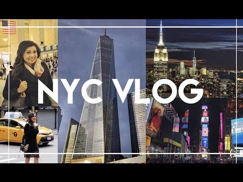 NYC Vlog - November 2016 | AllAboutAnika