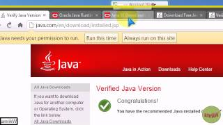 How I installed Java on Windows 7 (32-bit)