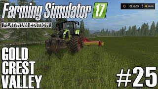 Farming Sim 17 - Gold Crest Valley 2.0 - Timelapse #25 - Grass Bales