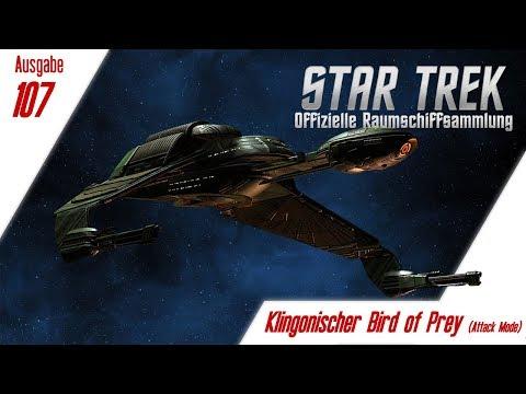 star-trek:-die-offizielle-raumschiffsammlung:-ausgabe-107:-klingonischer-bird-of-prey-(attack-mode)