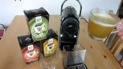 Teekapseln in Nespresso Pixie Maschine getestet
