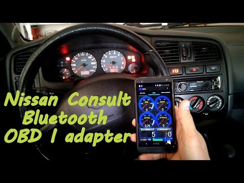 Nissan Consult OBD I adapter (NDS I Bluetooth) - YouTube