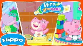 Hippo 🌼 Baby Care Game 🌼 Cartoon Game Review