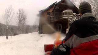Kubota Bx2200 Bx2750d Snow Blower - 141 - My Diy Garage Build Hd Time Lapse