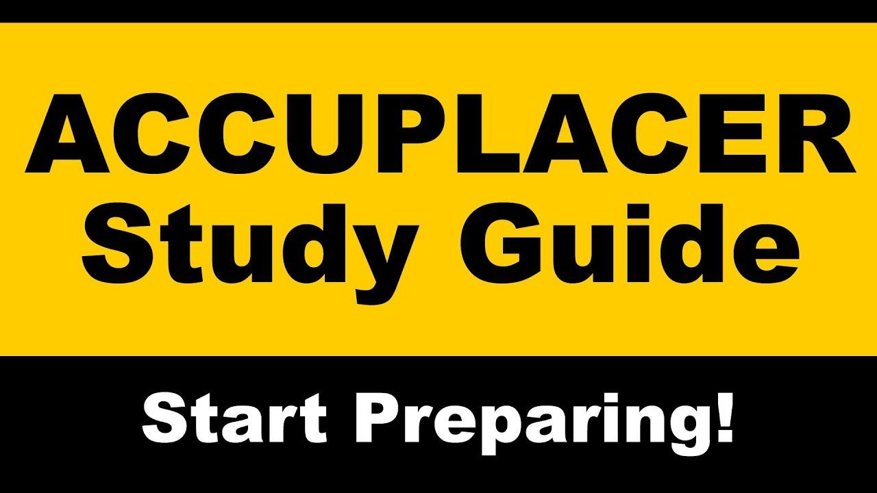 Accuplacer Arithmetic pt I Testprep Exam Practice Math ...