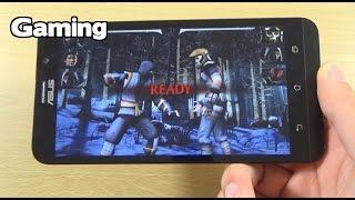 Asus Zenfone 2 ZE551ML Gaming Review - Mortal Kombat X!