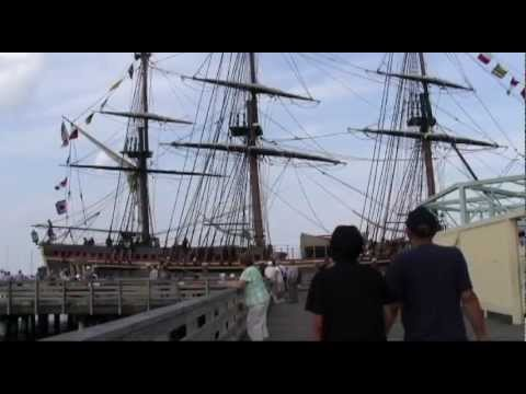 HMS Bounty before sinking