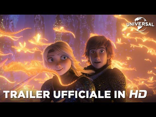 Dragon Trainer - Il Mondo Nascosto - Teaser Trailer Ufficiale