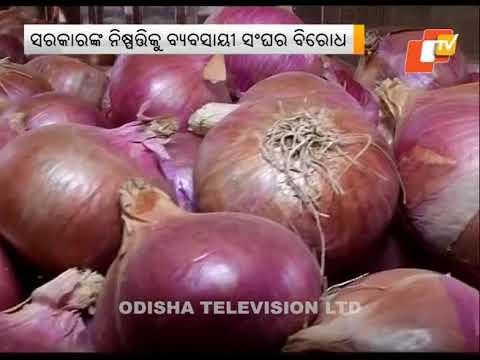 Odisha Imposes Stock Limits On Onion Traders