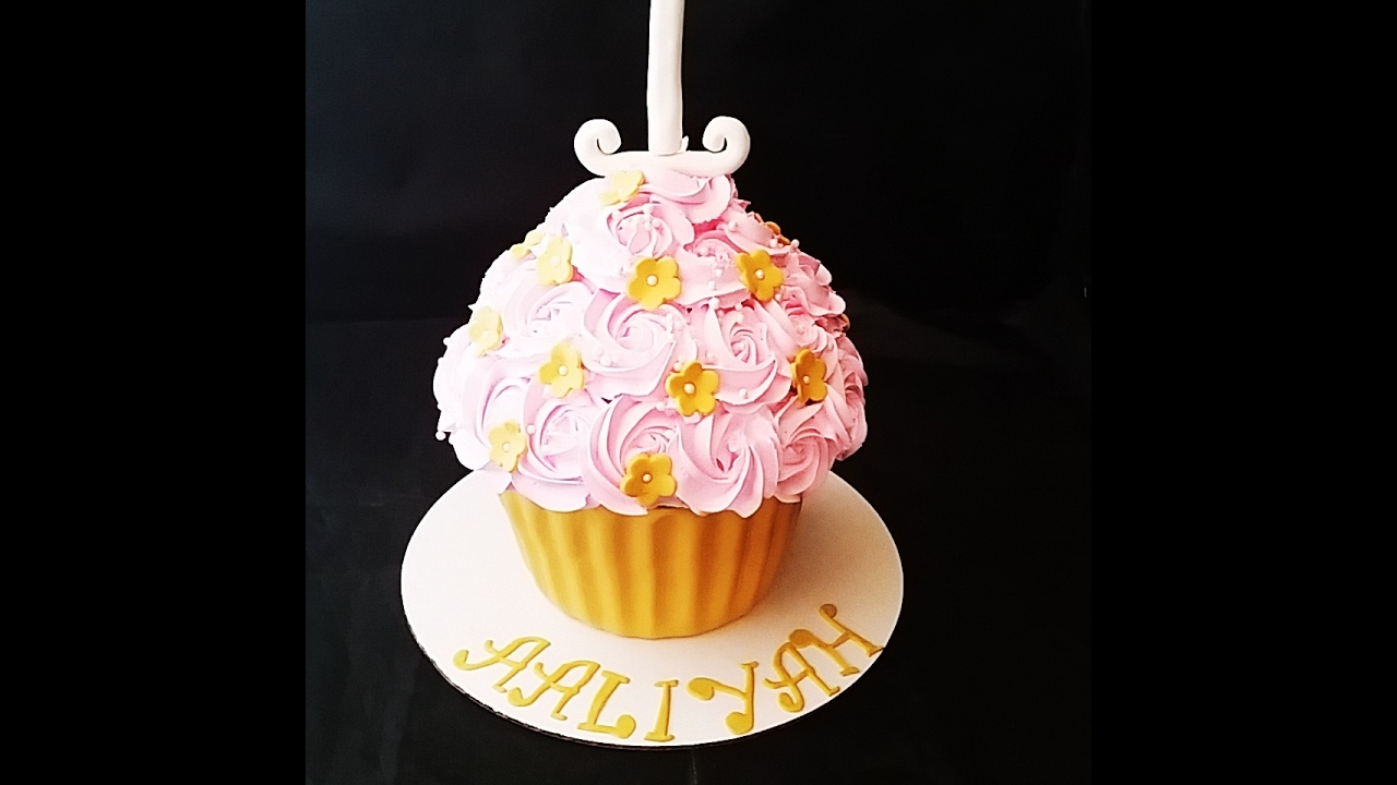 Cupcake Gigante Youtube