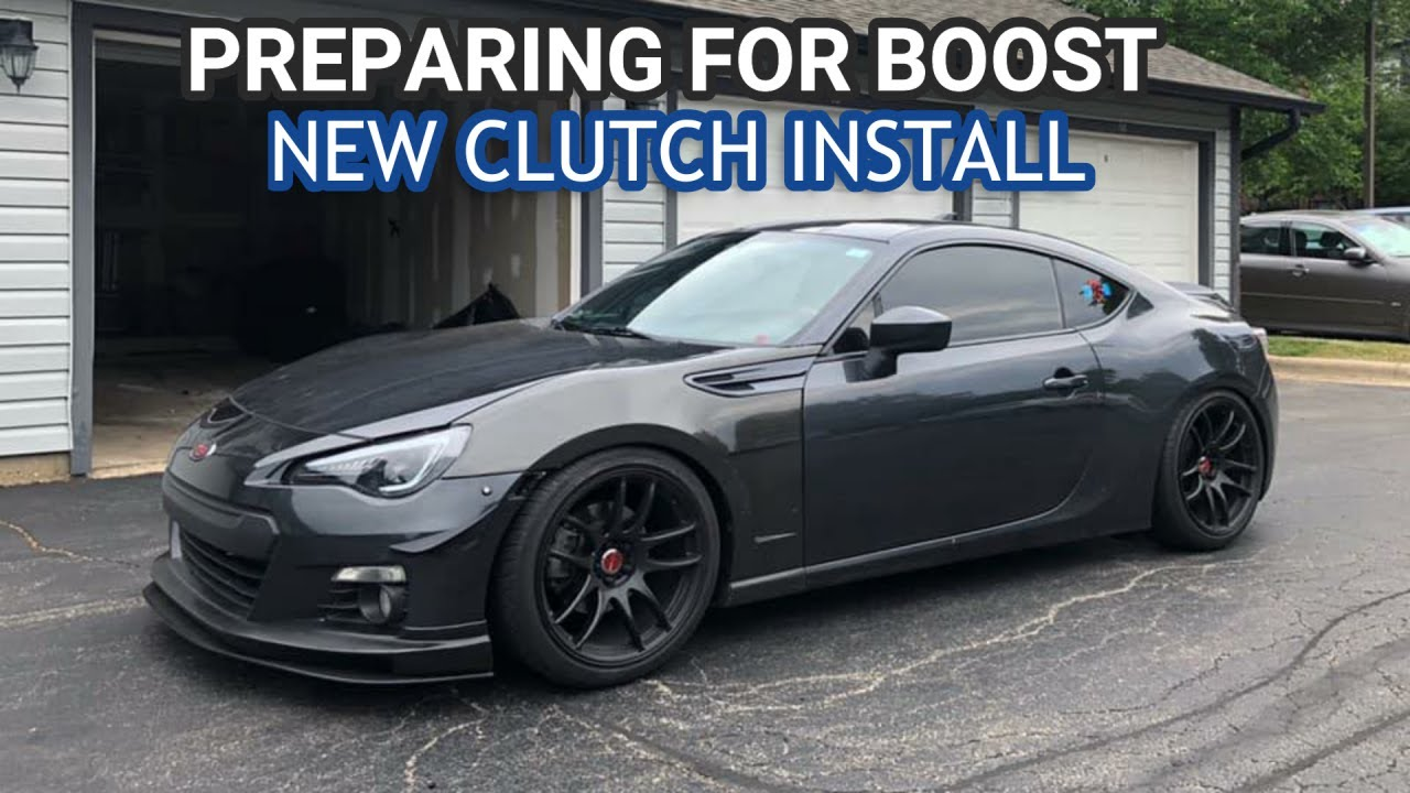 GETTING READY TO BOOST MY BRZ! (CLUTCH INSTALL)