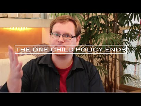 The End of China's One Child Policy