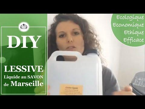 ☯ LESSIVE LIQUIDE au savon de Marseille 🌿 DIY MENAGER ☯