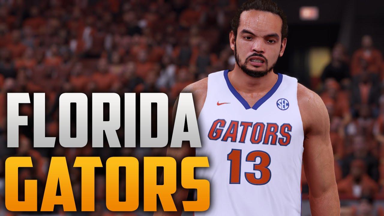 NBA 2K16 Florida Gators Court   Jersey Tutorial - YouTube 79bd519da