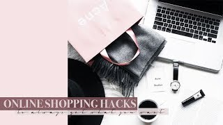 Online Shopping Hacks - Tips & Tricks to Always Get What You Want | Mademoiselle #ad