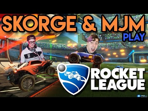 Skorge & MJM Play: ROCKET LEAGUE - 1