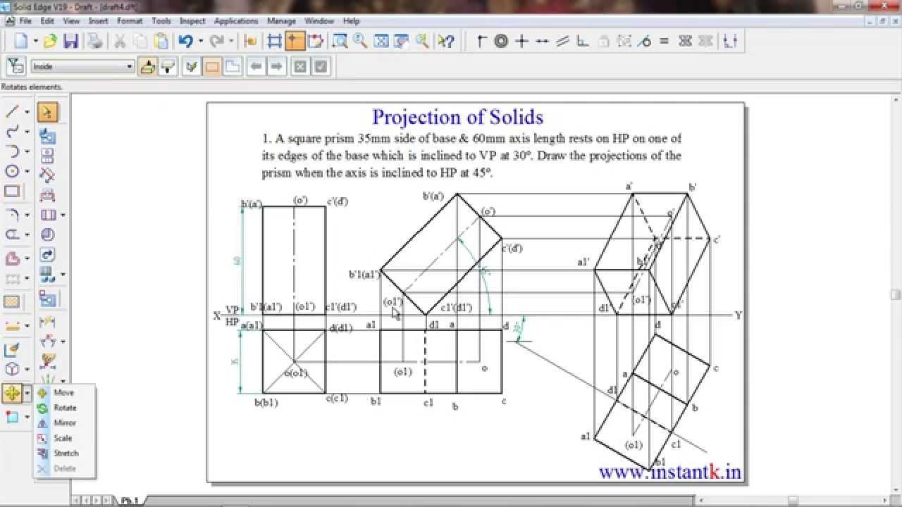 Buy At 91 8088 700800 10cde14 Vtu Be Engineering Drawing Proj Of